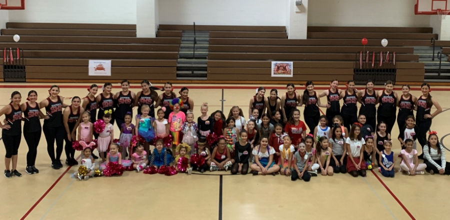 Dance Camp Participants