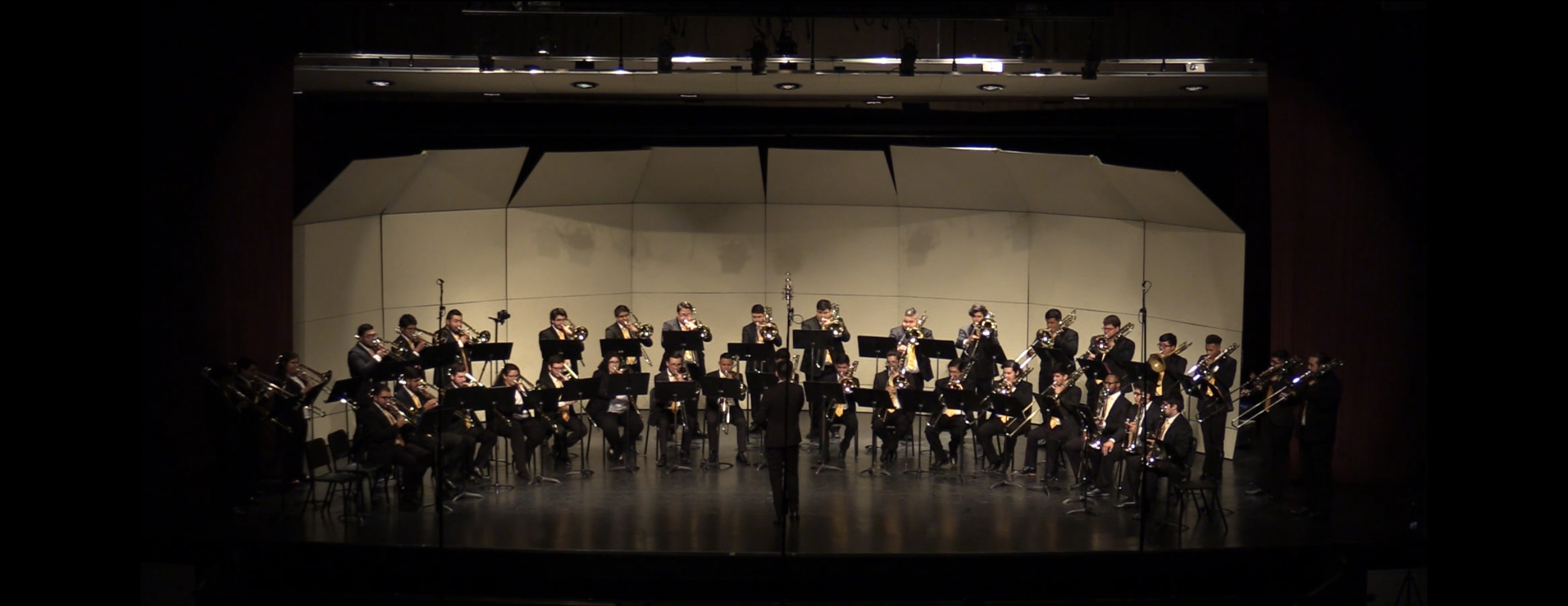 Texas A&M University-Kingsville Trombone Studio performs Joe Buono's Eclipse. Date of Performance: November 5, 2019 Conductor: Mr. Patrick Schmidt